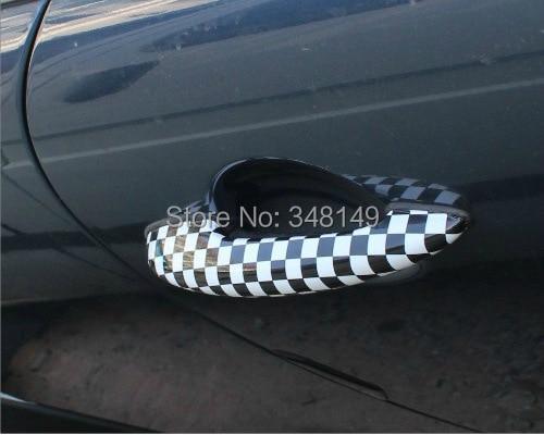 Aliauto 2 x automobilio durų rankenos lipdukas ir lipdukai, skirti - Automobilių išoriniai aksesuarai - Nuotrauka 3
