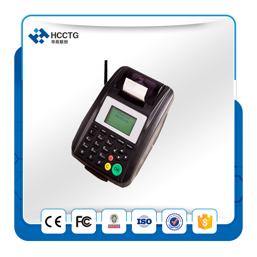 Online Food Ordering System Supports Remote Upgrade Software WIFI GPRS Thermal Printer HCS10