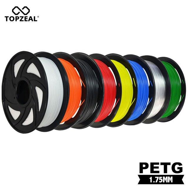 חם למכור 3D הדפסת נימה PETG 3D נימה PETG חומר 1.75mm 1KG PETG 3D נימה עם חוזק גבוה