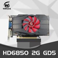 Видеокарты Veineda HD6850 2 ГБ GDDR5 256Bit ПК настольный PCI Express VGA, DVI, HDMI для AMD Radeon Gamings