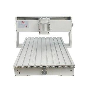 Image 4 - 80mm ציר מנוע מהדק התאסף CNC 6040 מסגרת עם סיבובי עבור נגרות נתב מכונת אלומיניום מתכת חרט