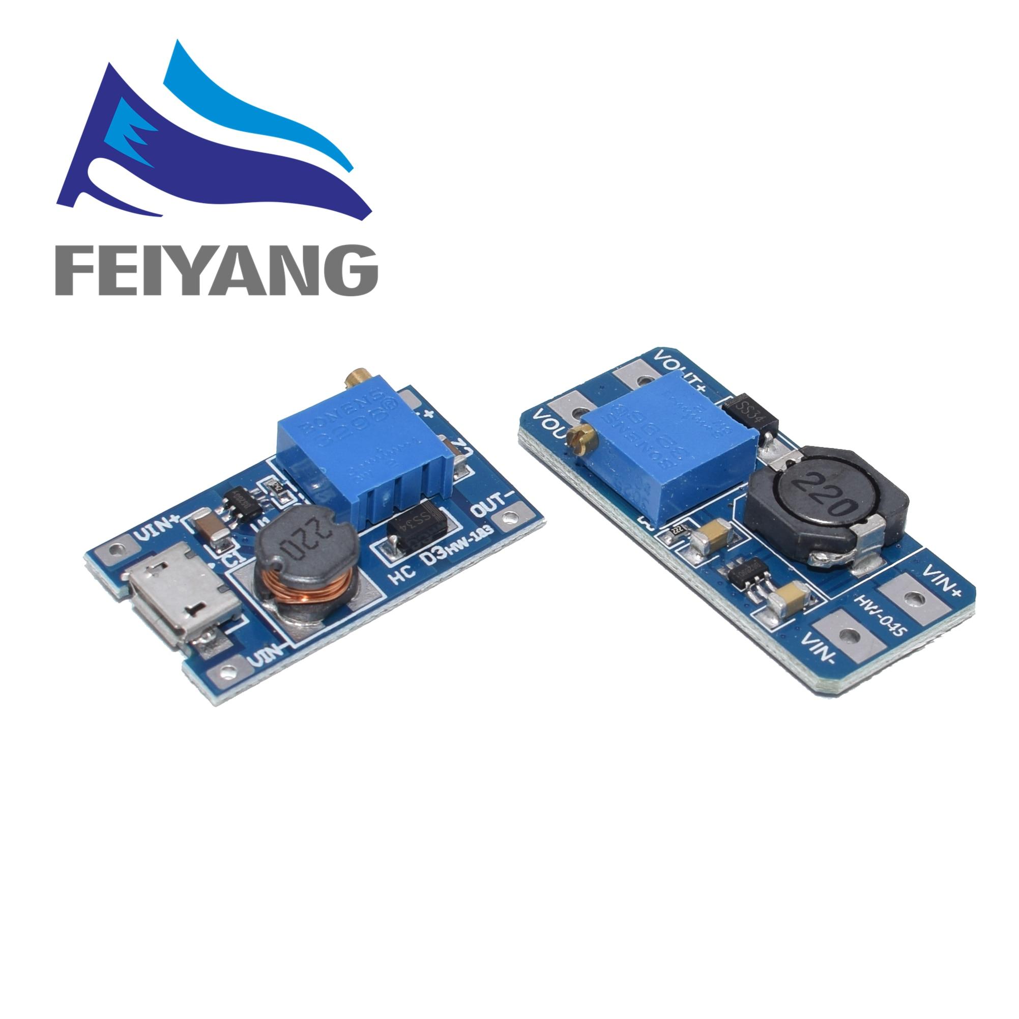 1 шт. MT3608 2A макс. DC DC Повышающий Модуль питания усилитель модуль питания 3 5 в до 5 В/9 В/12 В/24 В|power module|dc-dc step upstep up | АлиЭкспресс