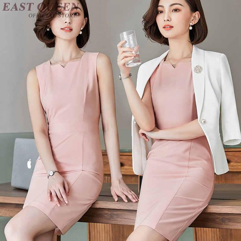 Interview suits luxe vrouwelijke adellijke dames business kantoor uniform ontwerpen vrouwen sociale ceremony festival jurk pak AA4104