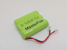 MasterFire 3PACK/LOT New Original Ni-MH AA 3.6V 1800mAh Rechargeable Battery Pack With Plugs For Cordless Phone Batteries