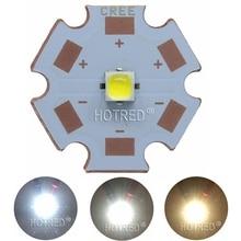 10 Вт Cree XPL XP-L светодиодный излучатель света белый 6500 к теплый белый 3000-3200 к 2,95-3,25 в с 8 мм 12 мм 14 мм 16 мм 20 мм PCB для DIY