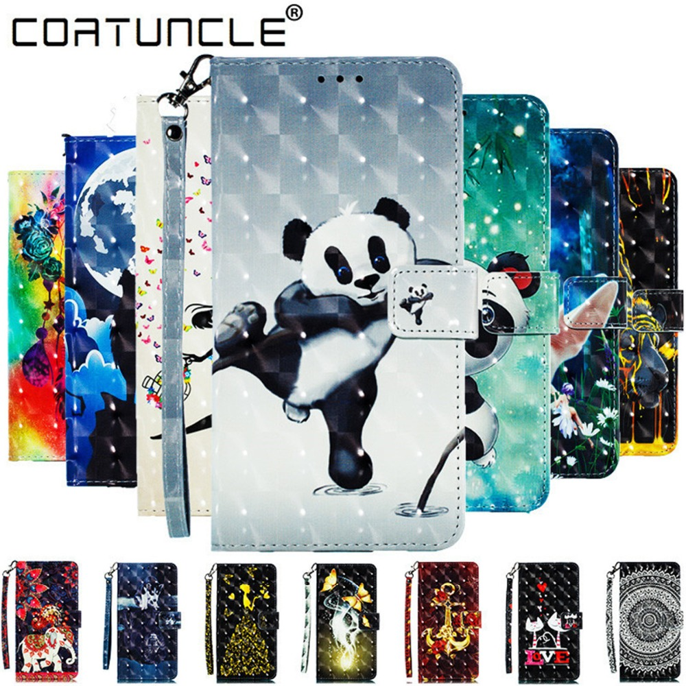 Note 9 Leather case For Fundas Samsung galaxy Note 9 case For Coque Samsung Note 9 case cover 3D Wallet Flip stand Phone cases