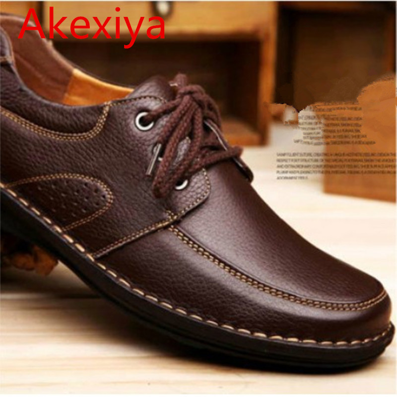 Akexiya 2017 Newest Fashion High Quality Men Shoe Spring Men Autumn Men Flats Men s Flats