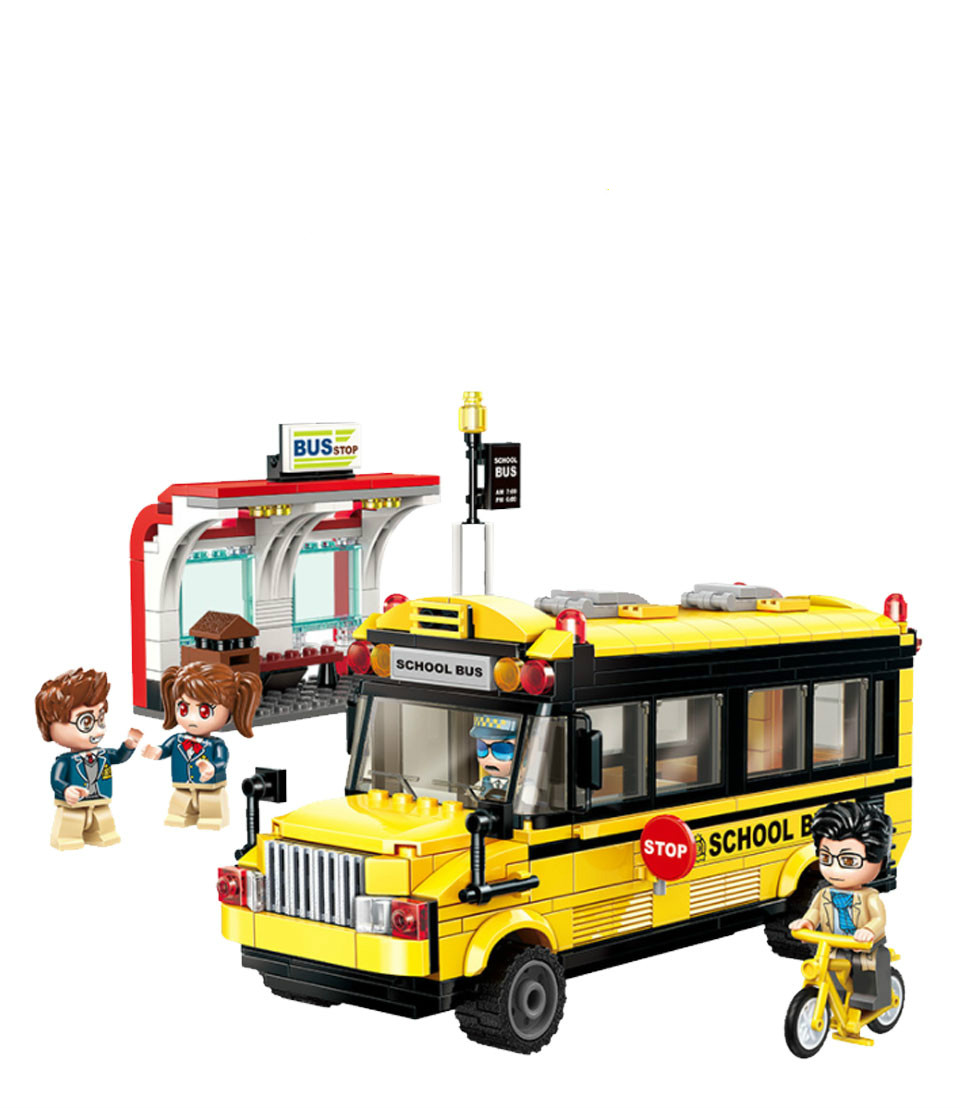 Building Blocks Compatible with Lego Enlighten E1136 440P Models Building Kits Blocks Toys Hobby Hobbies For Chlidren