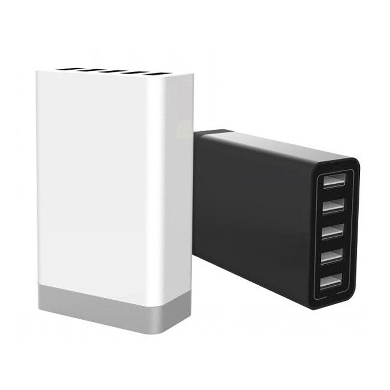 Новый 5 Порты стены USB Зарядное устройство адаптер для США ЕС. Австралии подключить 5 В 8a * 5 для iphone Samsung Sony Смартфон LG зарядки разъем