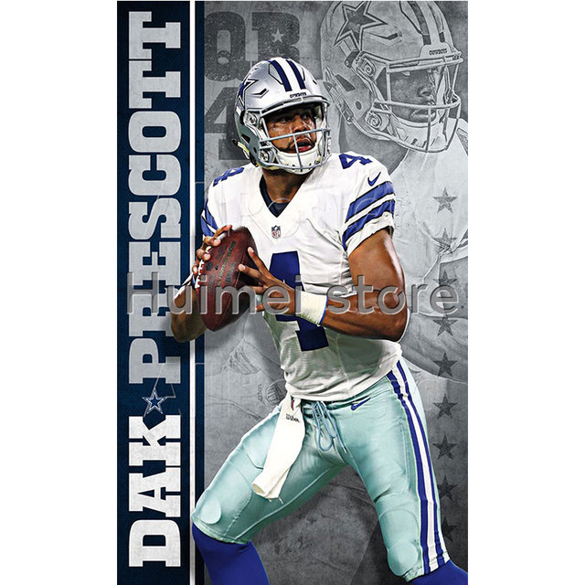 Dallas Cowboys Flags Size 90 150 Cm No 4 Player Flag In Banners Accessories From Home Garden On Aliexpress Alibaba Group