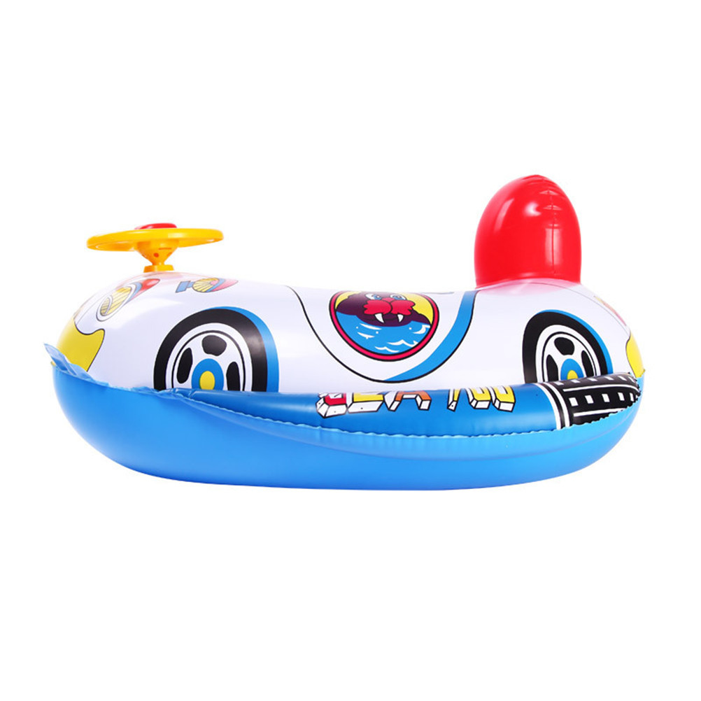 Pool Ring Inflatable Child laps Swim Seat Float Boat Baby Swim Water ...
