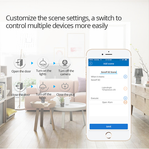 Image 5 - Sonoff 4CH R2 Wireless Multi channel WIFI Switch Independent Remote Control Smart House Home Automation Module Controller 220V