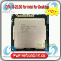 Оригинал для Intel Core i3 2130 Процессор 3.4 ГГц/3 МБ Кэш/Dual Core/Socket LGA 1155/Qual Core/Desktop I3-2130 ПРОЦЕССОРА
