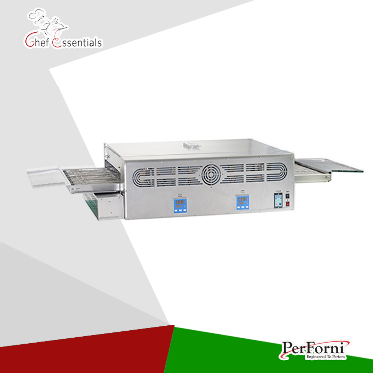 PF-GP-32 Stainless steel Gas conveyor pizza oven commercial 32 for pizza shop