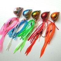 Beş Renk 150g Ile Mükemmel Iyi Jig Kafa Balıkçılık Cazibesi Etek Kurşun Jig Kurşun Balık Jig Lure Metal Balıkçılık cazibesi