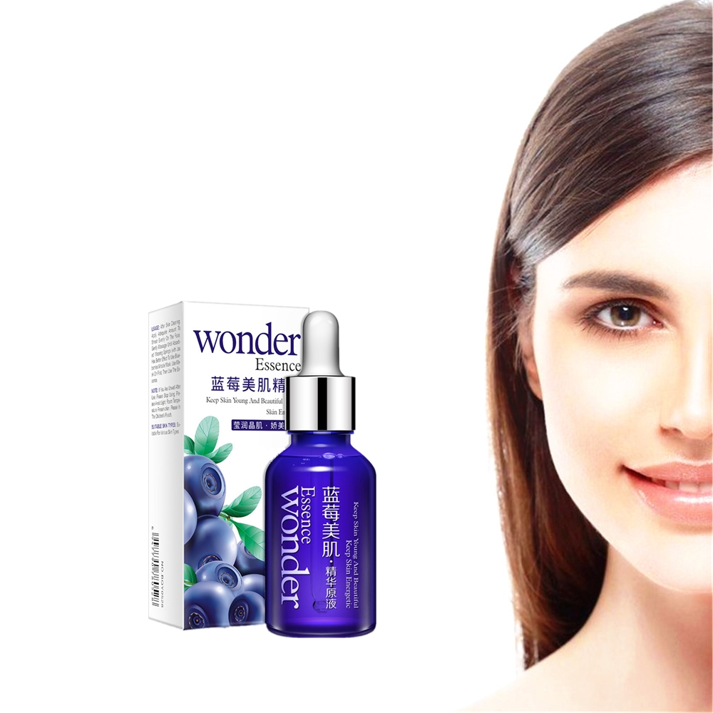 Essence Sodium-Serum Face-Lift Face-Skin-Tightening-Firming-Effect Anti-Wrinkle Blueberry