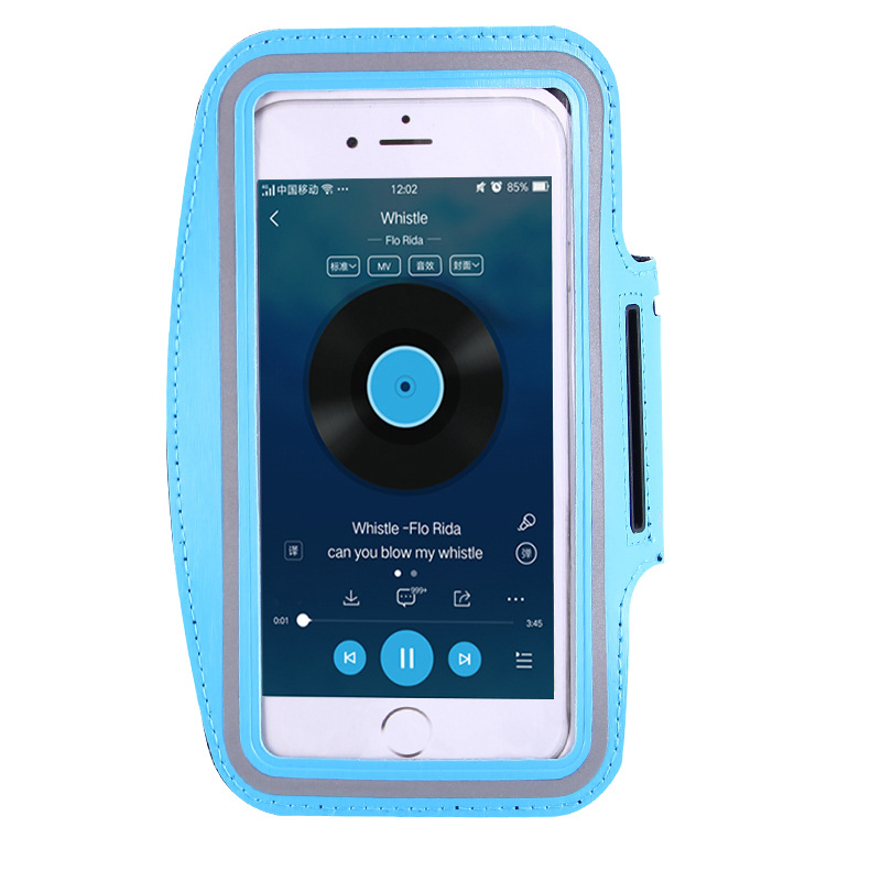 Image 4 - ユニバーサル 4 6 インチスポーツ用防水アームバンド iPhone 6 7 8 プラス X XS 最大 XR  携帯電話ケース屋外ランニングスポーツ腕章 -    グループ上の 携帯電話