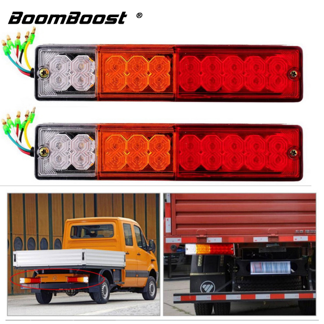 Turn indiactor led stop rear tail brake reverse light 12v24v atv turn indiactor led stop rear tail brake reverse light 12v24v atv truck trailer lamp aloadofball Image collections
