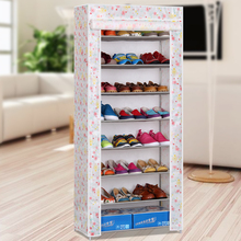 Hostel multilayer pipe assembly simple cloth shoe storage dust minimalist modern Specials