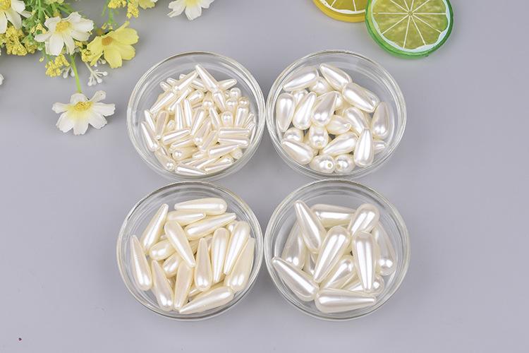 Abs белого цвета и слоновой кости в форме капли воды Форма искусственный