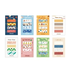 Get more info on the 8pcs Little Cutie sticky notes Cartoon birds fruit flower color memo pad Post index sticker it label Office School supplies F429