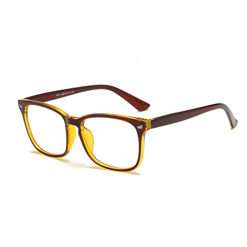 150b4f29f05cfe Mode Nouveau Lunettes Hommes Femmes Suqare Marque Designer Lunettes Cadre  Optique Ordinateur Lunettes Cadre oculos de grau