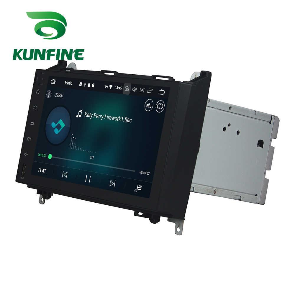 Octa Core 4GB RAM Android 8,0 navegación GPS con DVD para coche reproductor Multimedia estéreo de coche Deckless para BENZ Benz A-W169 2005-2011 la Radio
