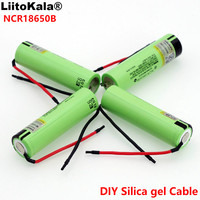 1-10PCS Liitokalanew original NCR18650B 3.7V 3400mAh 18650 rechargeable lithium battery for  battery + DIY Linie Replacement Batteries