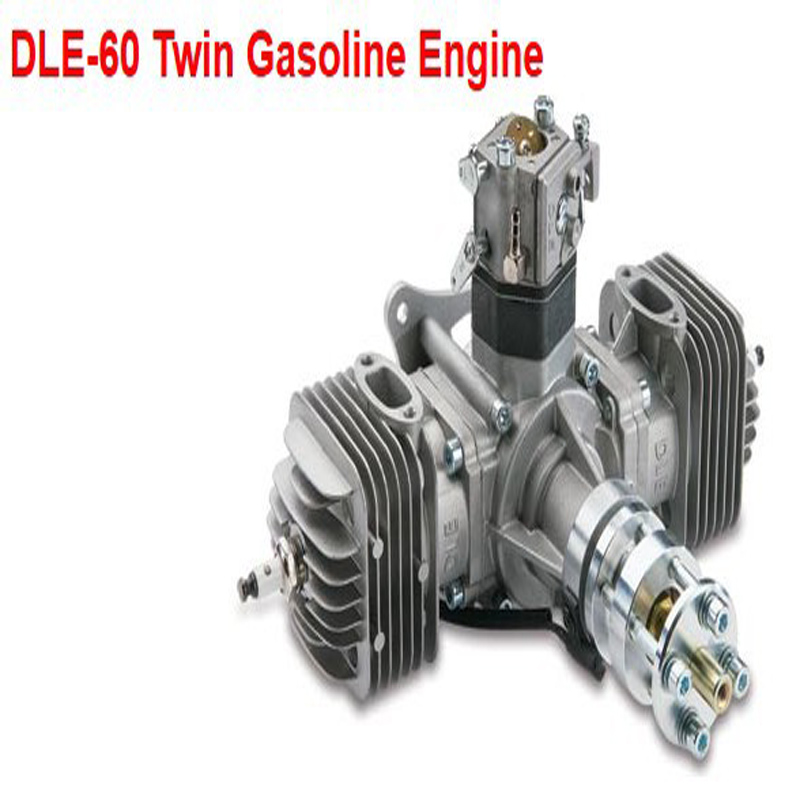 Original DLE60 60CC Twin Gasoline Engine for RC Airplane