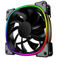 JONSBO PC светодиодный вентилятор 120 мм охлаждающий чехол светодиодный вентилятор с двойной линией изменение цвета(FR-801