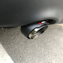 applicable for Land Rover Range Aurora found God carbon tail throat exhaust muffler modification