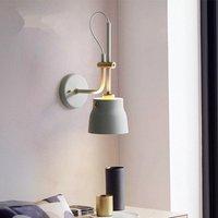 Americano do vintage lâmpada de parede criativo quarto sala de jantar de ferro industrial aiale wall light telescópica Martelo corredor bar wandlamp