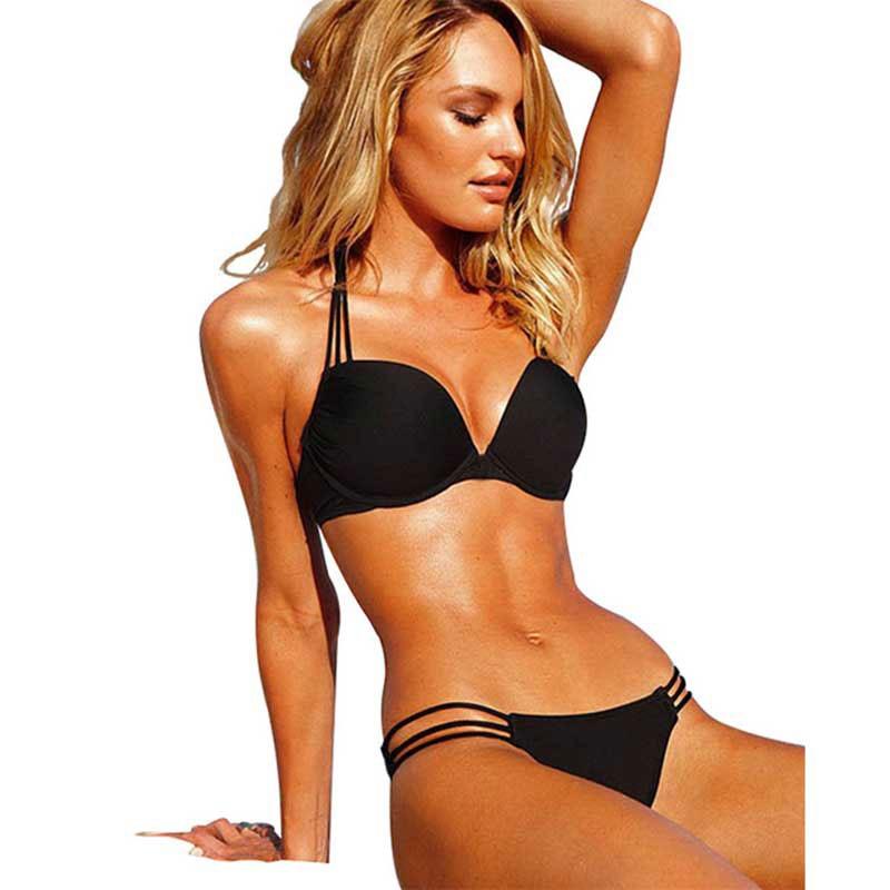 2017 Bandage Swimwear Women Swimsuit Push Up Sexy Bikini Beach Bathing Suit Brazilian Biquini Maillot De Bain Femme 6 colors brazilian bikini set 2017 sexy swimwear women bandage bikinis beach bathing suit push up bikini swimsuit biquini maillot de bain
