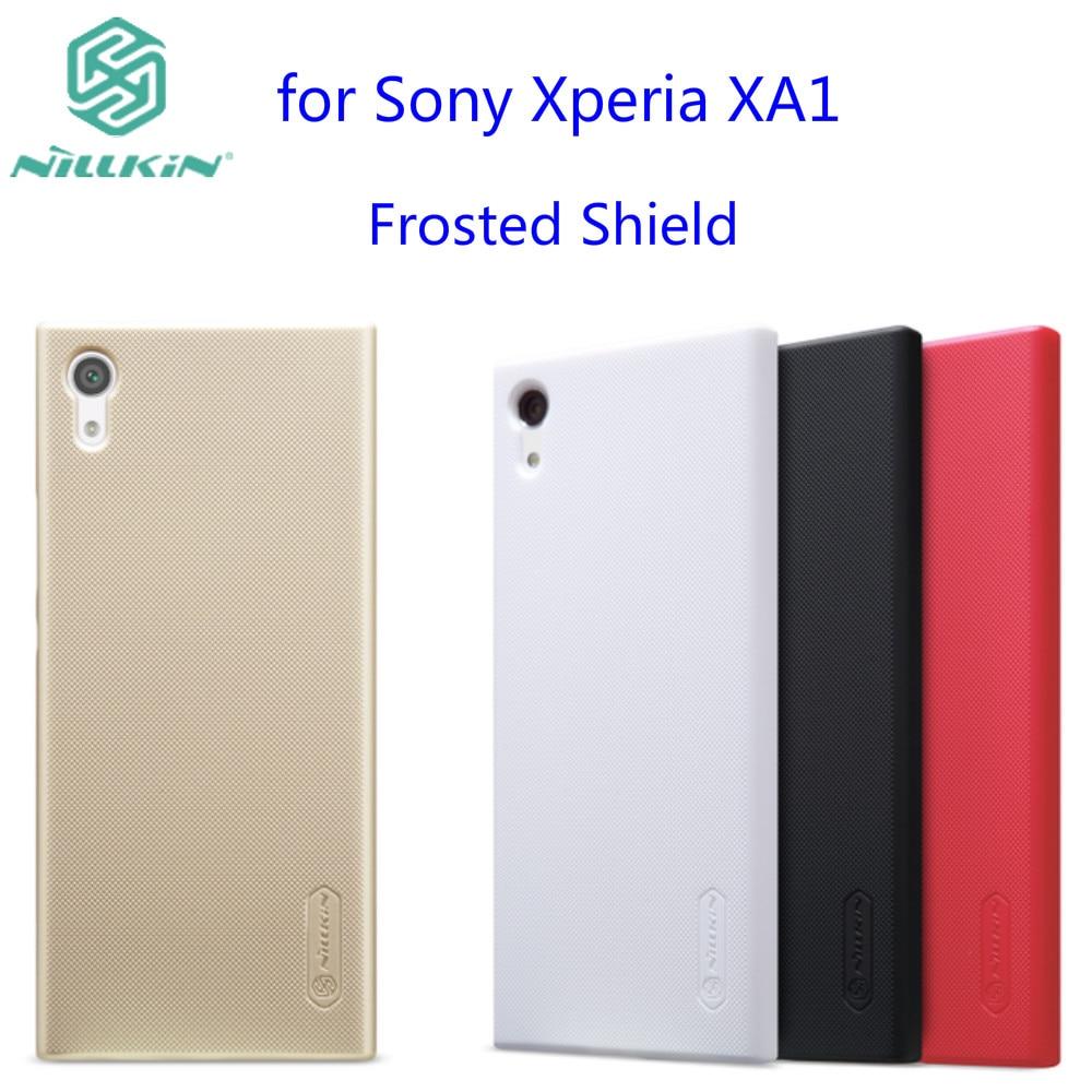 bilder für 10 teile/los Großhandel NILLKIN Super-Frosted Schild Fall Für Sony Xperia XA1 (5,0 zoll) Mit Geschenk Displayschutzfolie