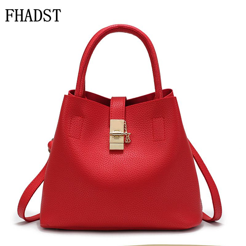 FHADST 2017 New Women's Handbags Famous Fashion Brand Candy Shoulder Bags Ladies Totes Simple Trapeze Women Hot Messenger Bags casual small candy color handbags new brand fashion clutches ladies totes party purse women crossbody shoulder messenger bags