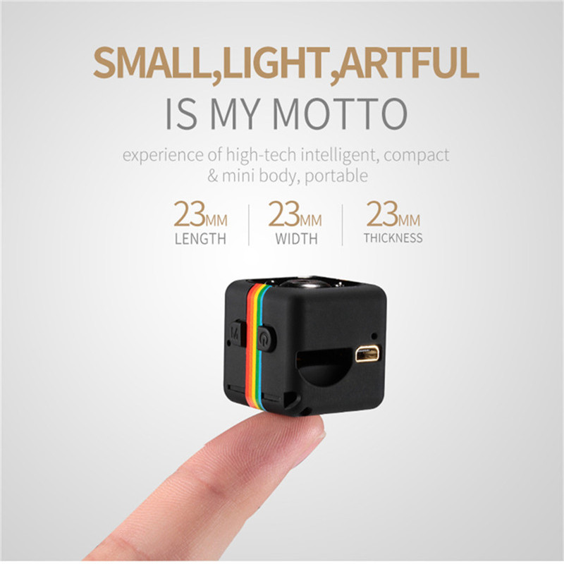 Drop shopping Mini Camera HD 1080P Camcorder Car DVR Infrared Video Recorder Sport Digital Camera Support TF Card DV Camera