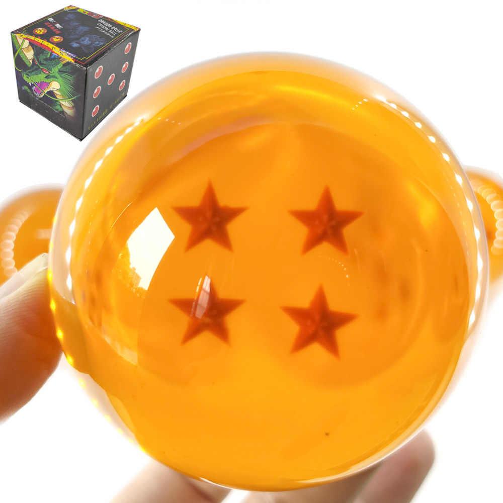 7.5 سنتيمتر 7 سنتيمتر كبيرة الحجم 1 2 3 4 5 6 7 نجوم دراغون بول لعبة دراغون بول كرات كريستالية غوكو z عمل أرقام اللعب ل chlidren جديد في صندوق