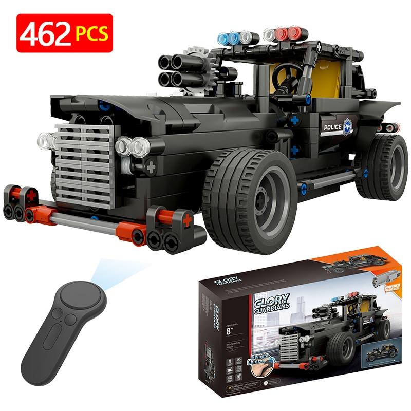 LegoINGLYS Technik sans fil série RC Technic télécommande voiture Radio assemblé véhicules modèle blocs briques jouets pour garçons