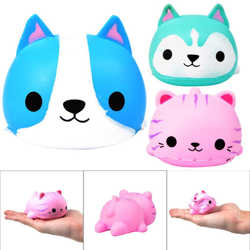 Beauty Rabbit Slow Rising Cute Squishies Toy Squishes Stress Relief Toy For Kids  Kawaii Stationery Wipes Anti-stress D4