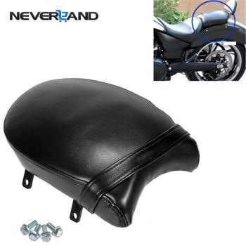 PU Leather Motorcycle Rear Passenger Pillion Cushion Pad Seat for Victory Boardwalk Judge Vegas Highball Gunner D35