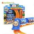 Thomas tren, juguete vía del tren eléctrico, juguetes de los niños clásicos, toda la red de menor precio, envío libre HT79100BU