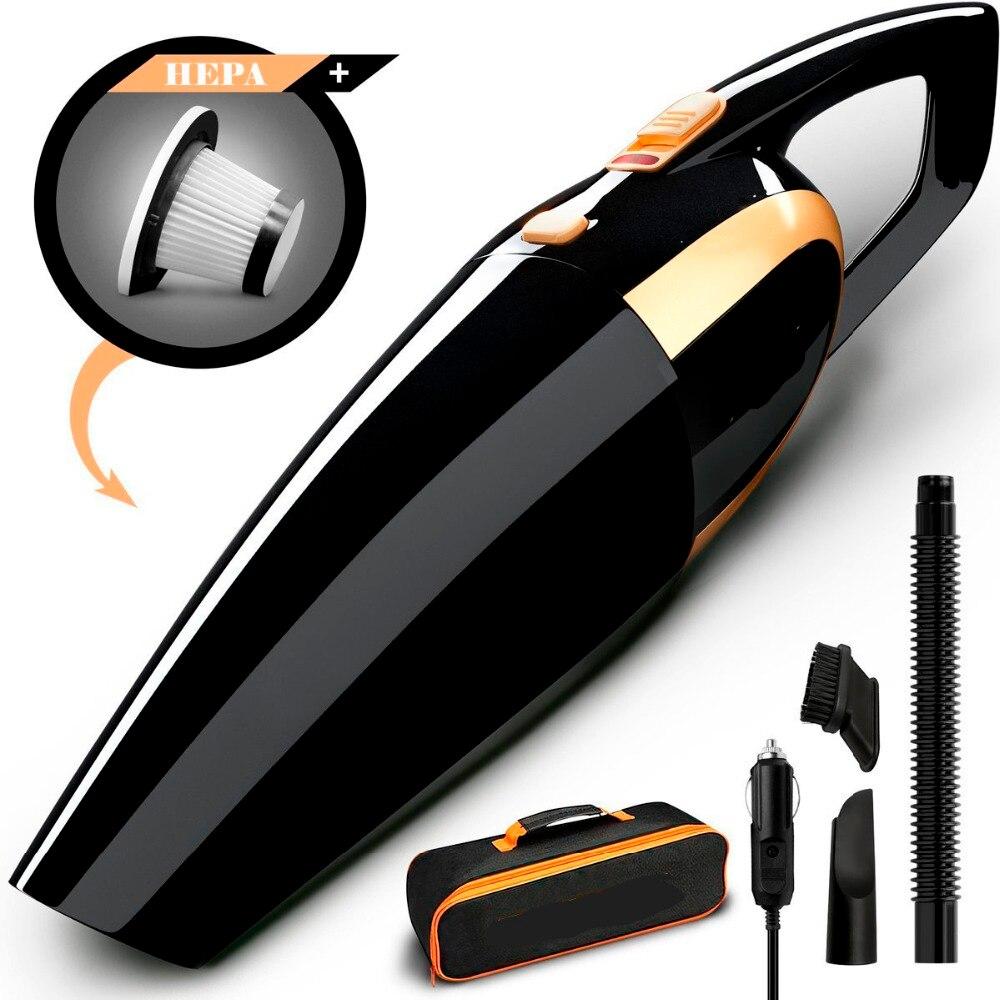 4800 pa Auto Vakuum, high power 120 watt Auto Staubsauger durch 12 v mit Lange Netzkabel Zusätzlichen Trage Tasche