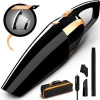 Car Vacuum Cleaner Portable Handheld Auto Vacuum Cleaner With Ultra Strong Suction DC 12 Volt Wet