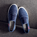 Casual Canvas Shoes New Arrival Fashion Casual Canvas Shoes Bottomed Breathable Shoes Summer Style Black/Blue Size35~39