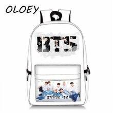 8671c21b5eba Bangtan мальчики рюкзак Корея BTS мальчики фото принт студенты школьная  сумка для учебников для подростка девочки