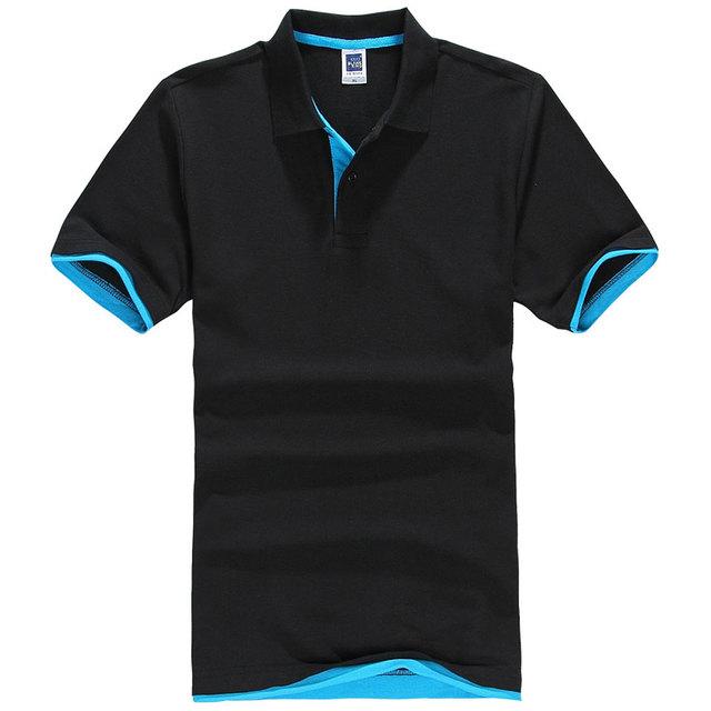 2018 Summer Women & Men Pure Color Leisure Polo Shirt Black Pink White Plus Size Breathable Cotton Polo Shirts for Ladies XS-3XL