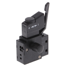 1pc FA2-6/1BEK Lock on Power Tool Electric Drill Speed Control Trigger Button Switch electric power tool part impact drill spst lock on trigger switch for bosch 22
