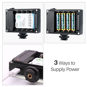 Image 3 - Ulanzi 96 LED Video Light with Battery Filters Hotshoe Photo Lighting on Camera for Canon Nikon Sony Camcorder DV DSLR