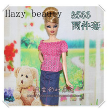 Hazy beauty doll clothes for barbie dolls BBI1078