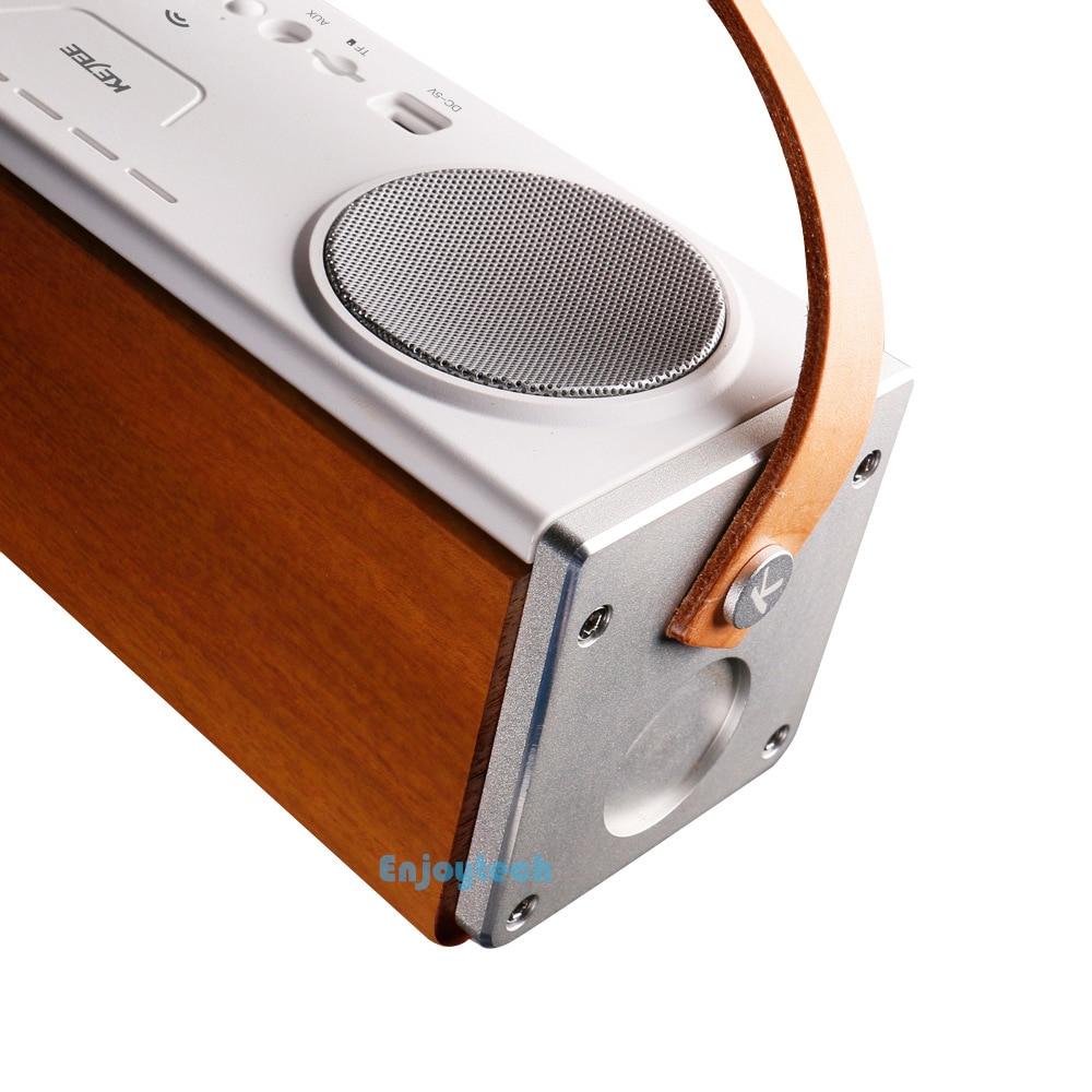 2017 Nuevo 10W * 2 Altavoz Bluetooth Inalámbrico Portátil Subwoofer - Audio y video portátil - foto 4
